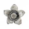 SS.925 Bead Flower Dimensional 12mm